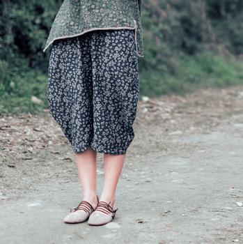 Бесплатная доставка женщины широкий оригинальный дизайн урожай хлопка белье женские ...