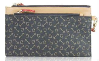 UK korean fashion style embossed decorative design female two folded long wallet  jth011-42 free shipping