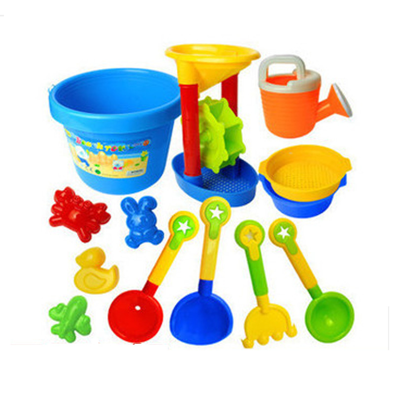 Summer hot-selling child beach toy set hourglass sand tools baby bath toys - Art Home of ROSE store