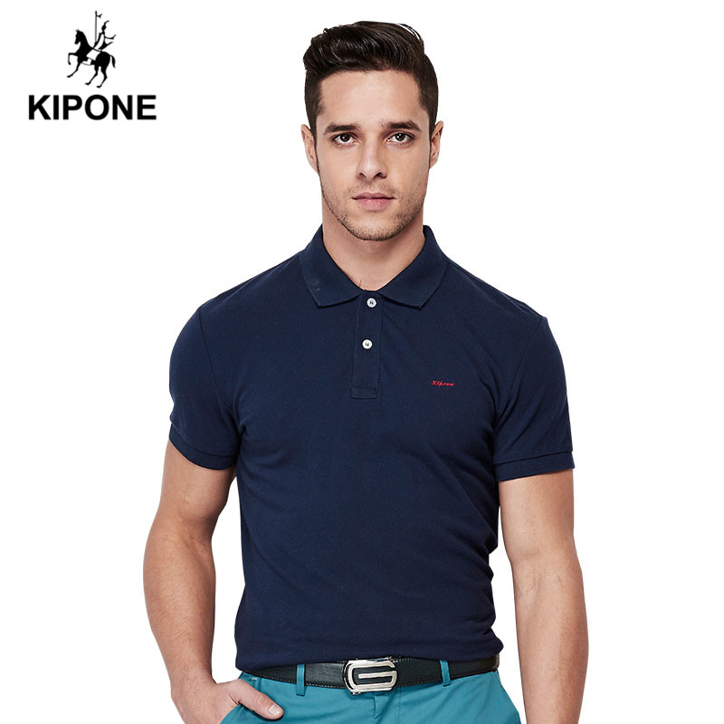 2016 Men Polo Shirt Brand KIPONE Classic Style Turn Down ...