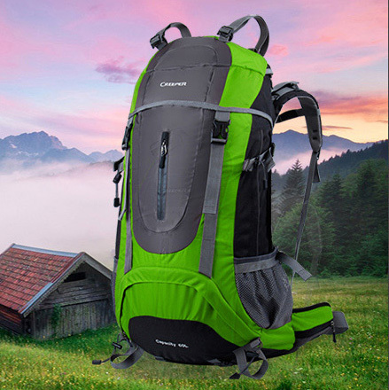 Brand Professional men Climbing Bag Outdoor shoulder backpack men's travel bags hiking camping women sport bag waterproof 65L  -  jiajia Co., Ltd. store