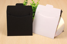 Wholesale 100 PCs Kraft Paper CD Cases Sleeves DVD Cases CD Packaging Envelopes(China (Mainland))