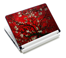 "12.1"" 13.3"" 14"" 14.4"" 15"" 15.4"" 15.6"" Inch Red Flower Laptop Skins Sticker Cover Decal Protectors for LENOVO/HP/DELL/ACER/asus(China (Mainland))"