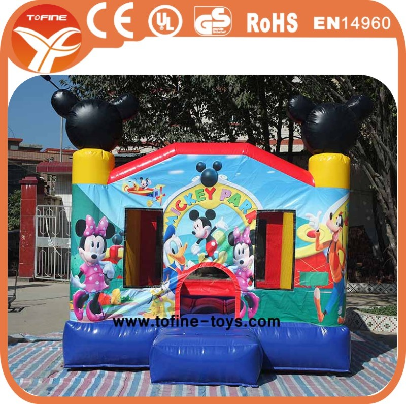 Mickcy theme inflatable jumping castle, inflatable bouncy castle, inflatable bouncer(China (Mainland))