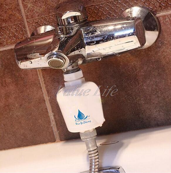 Гаджет  Universal Healthy Bathroom Kitchen Bath Removable Water Tap Filter, Clean Softener, Home Shower Faucet Purifier Head  None Бытовая техника