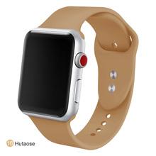 MU SEN, сменный спортивный браслет из мягкого силикона 38 мм для Apple Watch, версия 1, 2, 42 мм, браслет на запястье, ремешок для iWatch модель Sports(China)