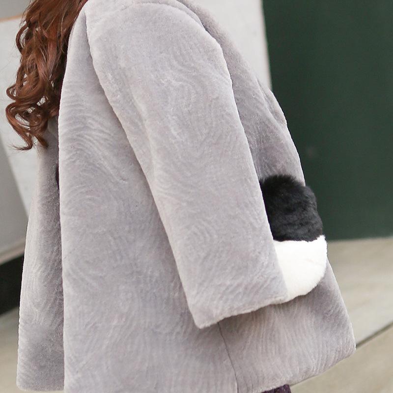 Скидки на 2016 зима новый детская одежда Корейские девушки свитер пальто детская с капюшоном пальто прилив бесплатная доставка