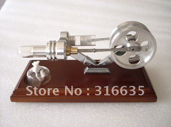 Victory model BRAND NEW TWIN FLYWHEELS HOT AIR STIRLING ENGINE STIRLINGMOTOR NO STEAM(China (Mainland))