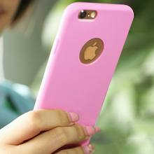 Case for iphone 5S!Candy Colors Soft TPU Phone Back Cases For Iphone 5 5S Coque with logo window Accessories YC1092