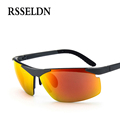 RSSELDN New Men Polarized Sunglasses Night Vision Goggles Men s Car Driving Glasses Anti glare Alloy