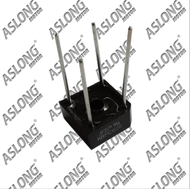 Aslong kbpc608 sep rectifier bridge dc rectifier(China (Mainland))
