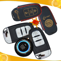 NEW! promotional smart keyless entry,passive lock or unlock,hopping code remote start and push start top slim start button!