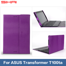 SIKAI Stand PU Leather Protective Case For Asus Transformer Book T100ta T100 10.1″ Tablet Case