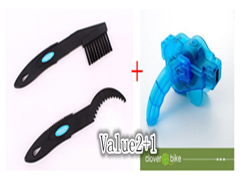 Bike Chain Cleaner Cycling Bike Machine Brushes Scrubber Wash Tool Kit Bicycle Accessories 3/Pce(China (Mainland))