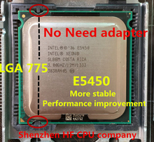 Para Intel Xeon E5450 procesador ( 3.0 GHz / 12 M / 1333 ) cierre a LGA775 Core 2 Quad Q9650 cpuworks en ( LGA 775 placa base no necesita adaptador )(China (Mainland))