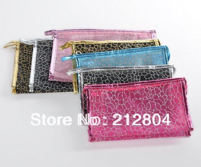 Valentine's day ! Girl PVC Print Beauty Cosmetic Case Makeup Take Mp3 Phone New Brand Bag JHB-214