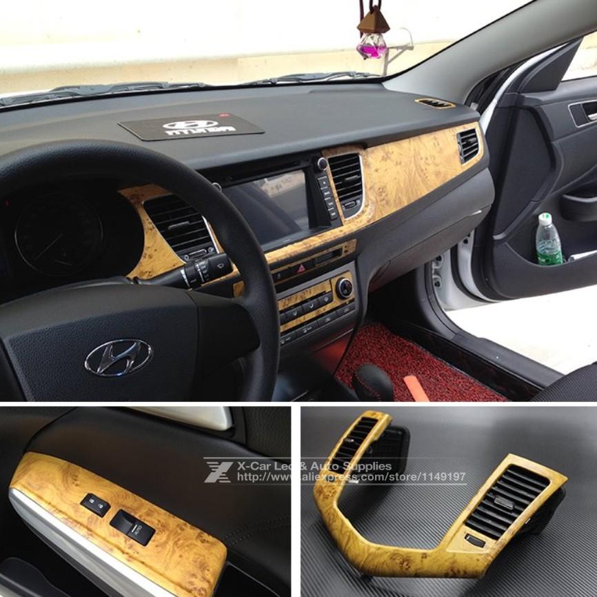 buy 122 30cm self adhesive vinyl wood grain textured car wrap car internal. Black Bedroom Furniture Sets. Home Design Ideas