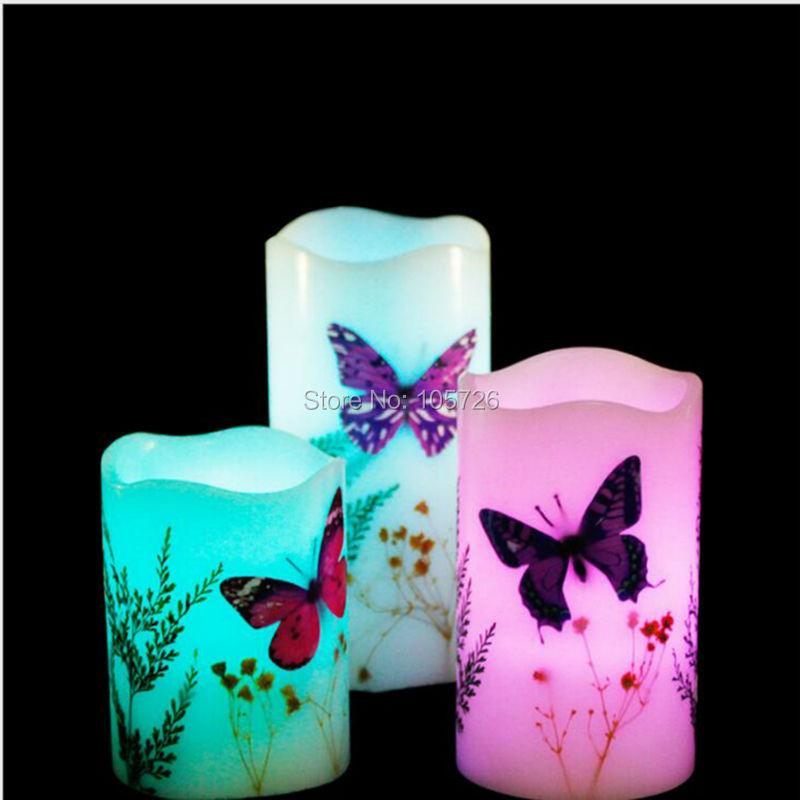 achetez en gros papillon led bougie en ligne des grossistes papillon led bougie chinois. Black Bedroom Furniture Sets. Home Design Ideas