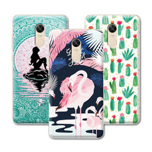 "Buy Mermaid Painting Coque Xiaomi Redmi Note 4X Case capa Plastic Back cover Hongmi Note 4X phone cases Funda 5.5""+Gift for $2.54 in AliExpress store"