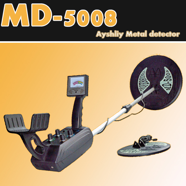 MD5008 Under ground  metal detector,gold detector Big coil and small coil, + Free Shipping<br><br>Aliexpress