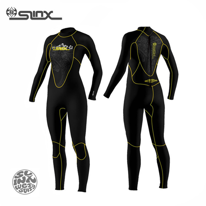 New Discover 1107 Women's Wetsuit Scuba Diving Swimming Windsurfing Snorkeling Fishing Neoprene 5mm Swimwear(China (Mainland))