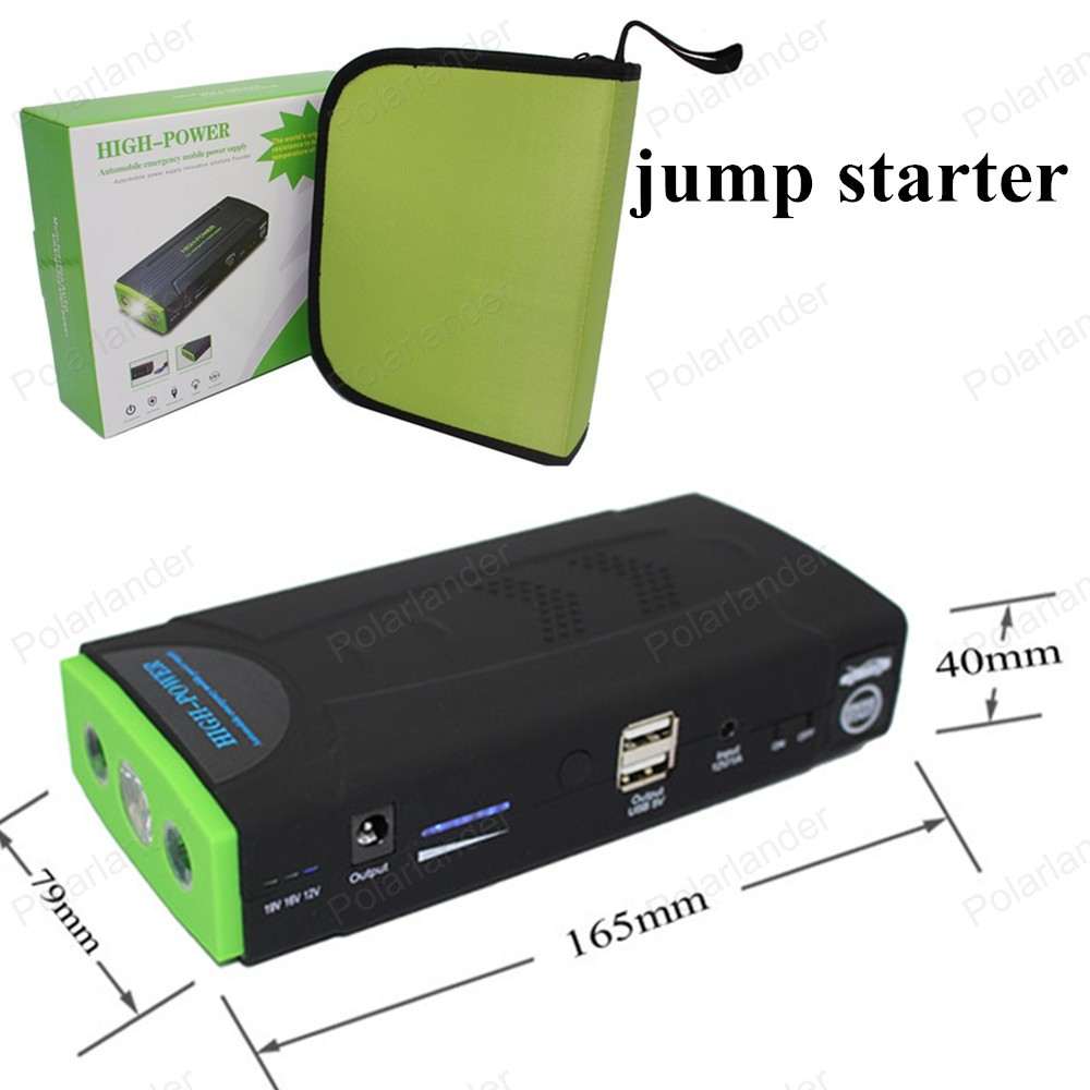high quality booster power battery charger mobile phone laptop power bank 12V portable mini jump starter 50800mAh car jumper