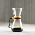1PC Free Shipping Chemex Style Coffee Brewer 3Cups Counted Chemex Hot Brewer Coffee Pot