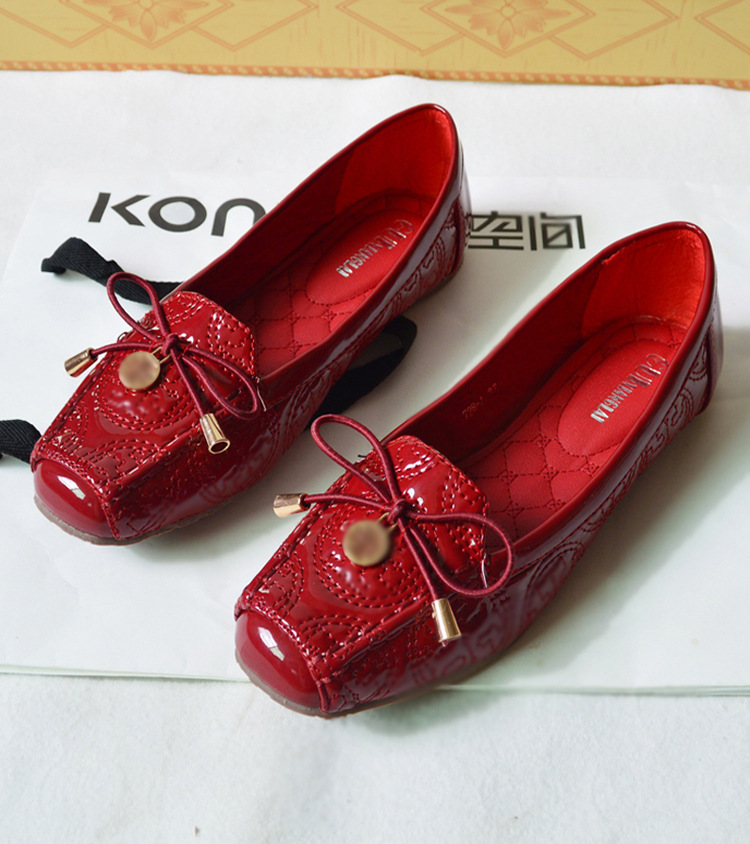 A Korean leisure Women shoe bow 728 1