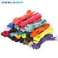 Fashion 120CM Flat Silk Ribbon Shoelaces Shoe Laces Sneaker Sport Shoes Lace 3 Pair Free Shipping