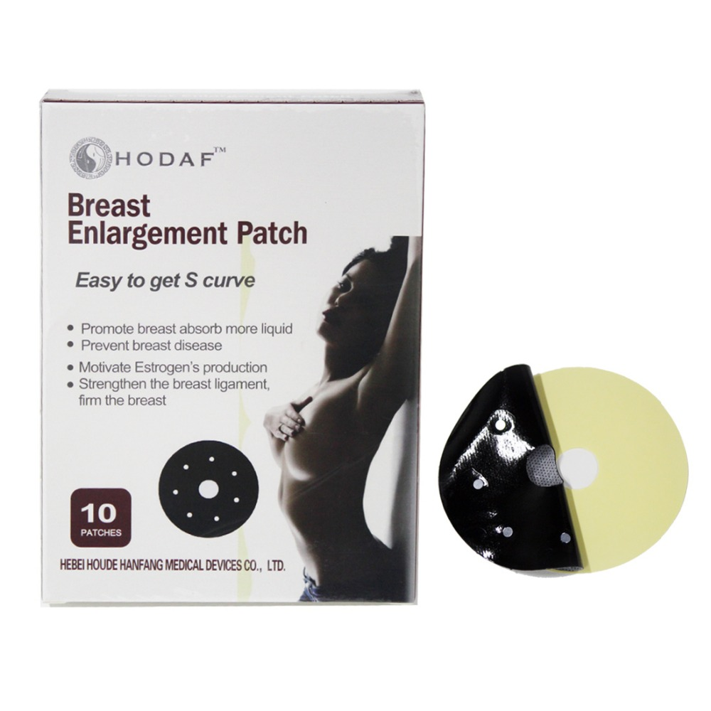 100% Natural Herbal Effect Female Breast Enlargement Patches 10pcs/box Point Magnet Therapy Breast Enhancers