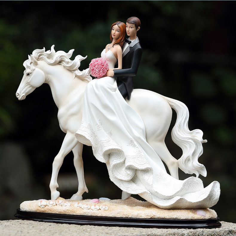 Horse And Carriage Cake Topper