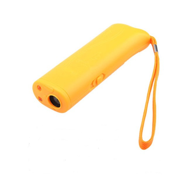 New Pet Products Dog Supplies Effective Anti-Bark Barking Stop Repellent Electronic Repel Device Trainings Yellow C#RT(China (Mainland))