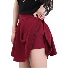Buy Plus Size XXL 3XL 4XL 5XL Summer Woman Sexy Shorts Skirts High Waist OL Ladies Skirts Female Elastic Oversized Mini Skirt for $9.99 in AliExpress store