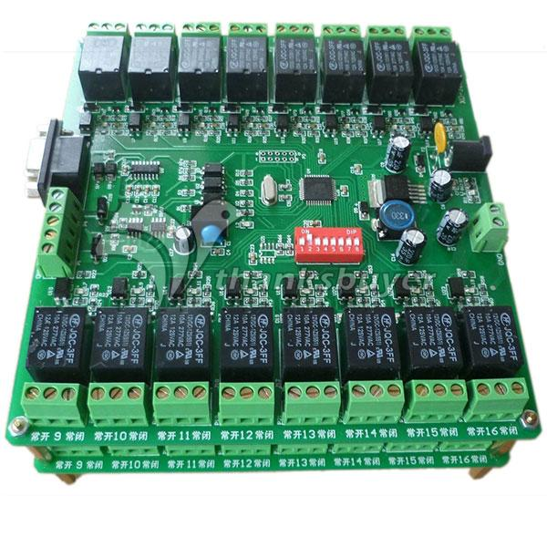 16 Channel Relay Module Board 232 Control 16 in 16 out w/ Isolation Protection<br><br>Aliexpress