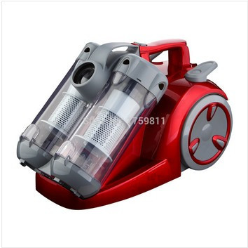 2015 New Design Low Noise Bagless Dual Cyclonic Filtration System Vacuum Cleaner MD-802 Free Shipping(China (Mainland))
