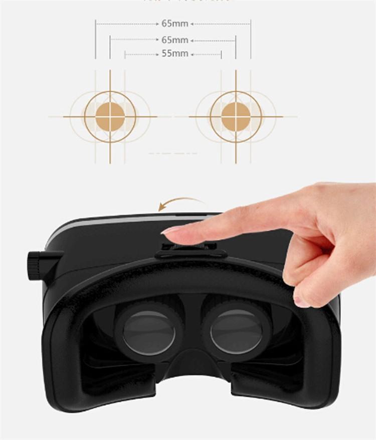 ถูก VR Shinecon VRความจริงเสมือนจริง3Dแว่นตาบัตร-คณะกรรมการแตกแยกDK2สำหรับ4.7-6นิ้วมาร์ทโฟน