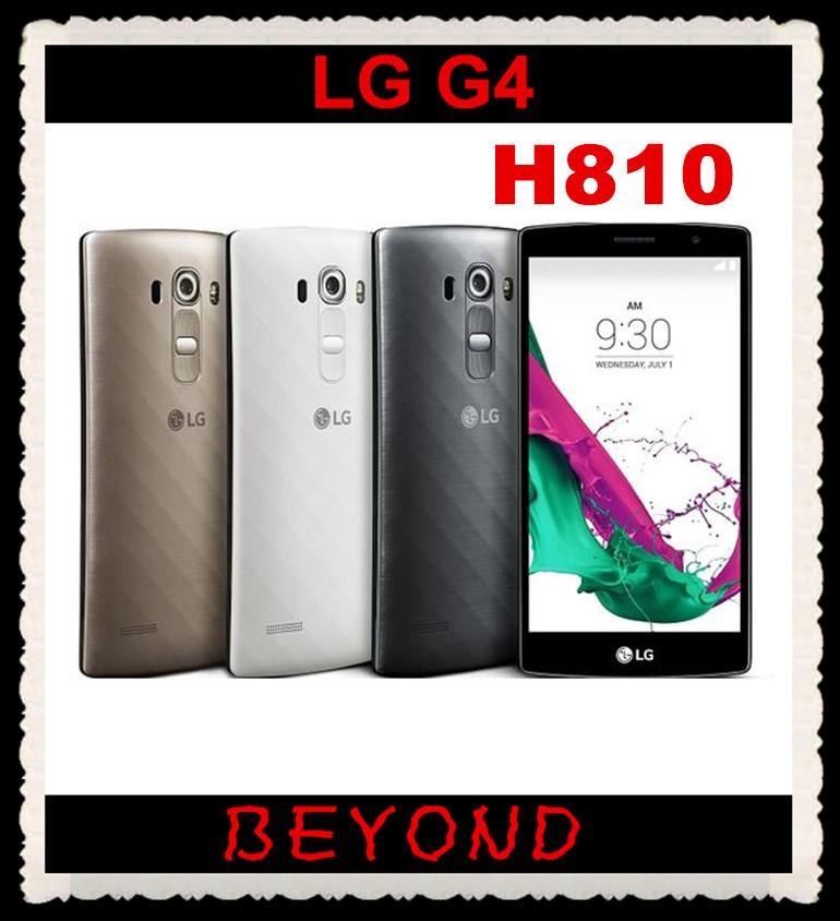 "LG G4 H810 Original Unlocked GSM AT&T US Version 3G&4G Android Hexa Core RAM 3GB ROM 32GB 5.5"" 16MP Cell Phone dropshipping(China (Mainland))"
