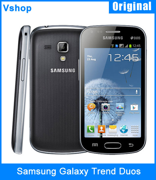 Refurbished Original Samsung Galaxy Trend Duos S7562 4.0 inch 4GB ROM Android 4.0 Snapdragon MSM7227A 1.0GHz Dual SIM 3G Phone(China (Mainland))