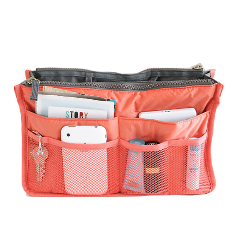 Nylon Cosmetic Bag Female Makeup Bags Organizer Women Travel Beauty Bags Lady Cosmetic Bag lm2136SS