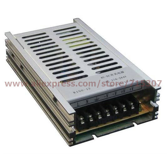 Leetone K150-12 150W switching power supply 12V 12.5A high efficiency 176-264VAC input with OVP & OTP for 3 years warranty(China (Mainland))