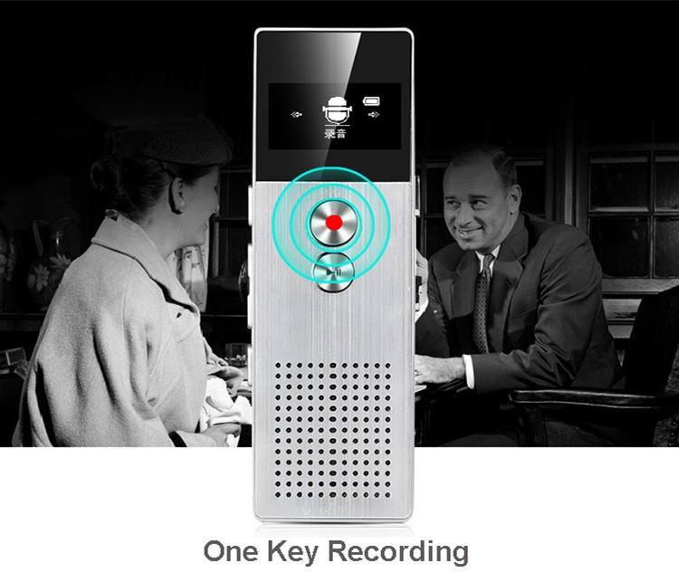 Benjie c6 8gb digital voice recorder 15m professional audio recorder benjie bj m23 8gb digital voice recorder professional audio recorder portable recorder with loudspeaker 28 fandeluxe Gallery