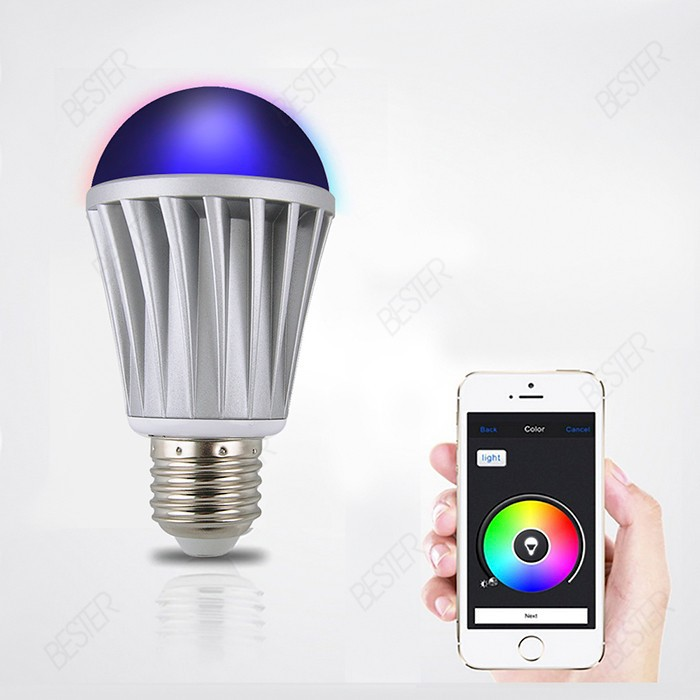 bluetooth smart light lamp 7