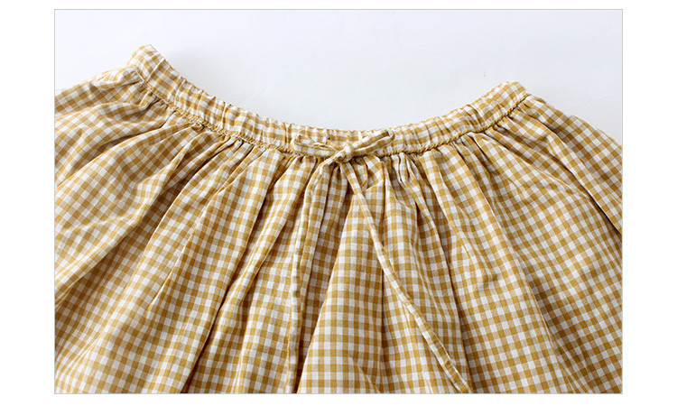 plaid skirt girls