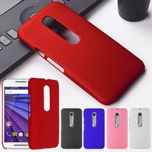 Ultrathin Matte Hard Plastic Case Motorola Moto X Style G4 Plus Play Z Force G3 G2 G E2 E X3 X+1 PC Protective Back Cover - Rs Team store