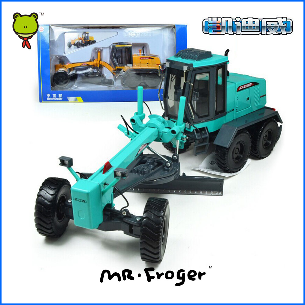 Mr.Fronger Motor Grader Model Refined metal alloy Engineering Construction vehicles truck Decoration Classic children Toy(China (Mainland))