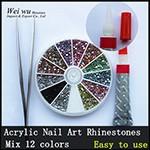 Acryl Nail Art Rhinestones