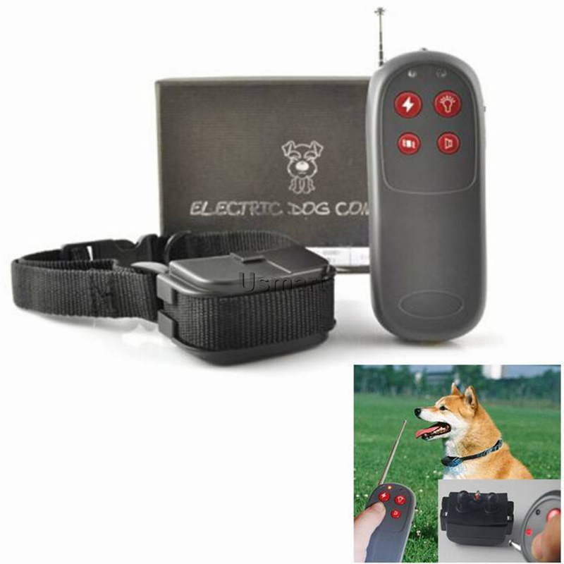 Multi-functional Dog Training Collar Electronic Shock Vibrate Remote Dog-Collar for Small, Medium and Large Dogs up to 70 Pounds(China (Mainland))