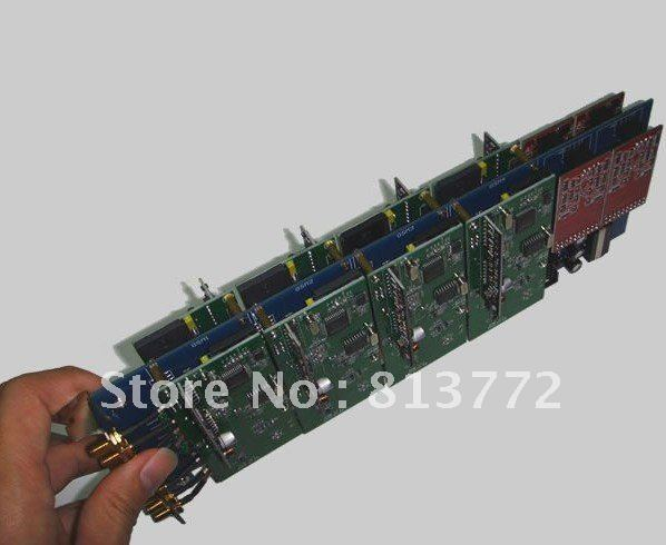8 ports Asterisk gsm asterisk fxo fxs card compatible with Diguim TDM 400P & 400E, access of GSM cdma pstn phone(China (Mainland))