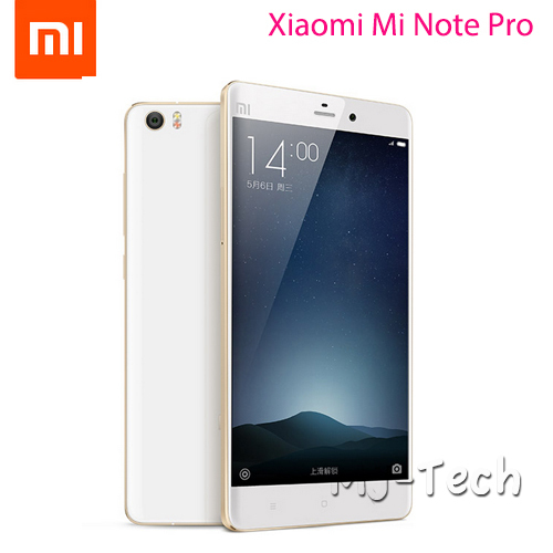 """Free DHL Xiaomi Mi Note Pro Phone 4G LTE 4GB 64GB 5.7"""" 2560x1440 Snapdragan810 Octa Core 13.0MP Android 5.0 Lollipop Cellphone(China (Mainland))"""