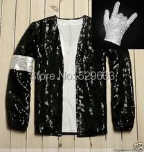 DJ Design Free shipping wholesale Michael Jackson Billie Jean style Jacket & Free glove()